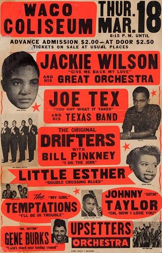 Jackie Wilson poster 1