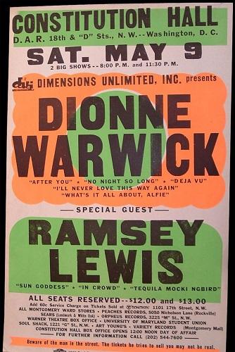 Dionne Warwick poster 2