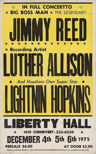 Jimmy Reed poster 2