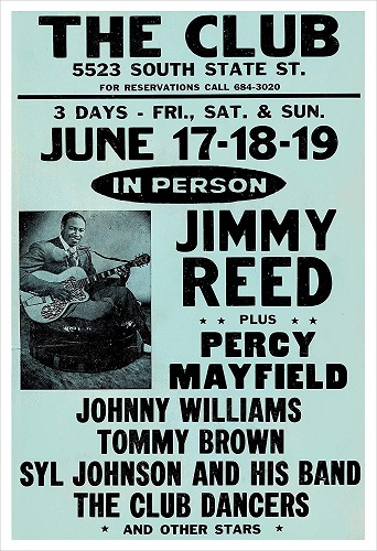 Jimmy Reed poster 3