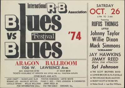 Rufus Thomas poster 1