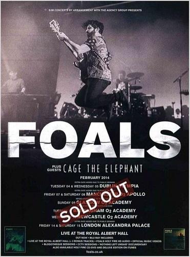 Foals poster