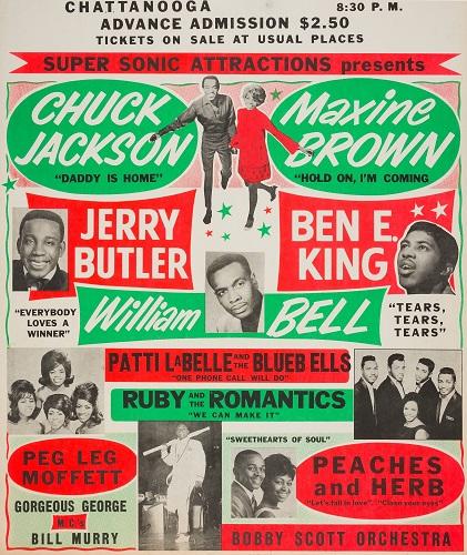 Chuck Jackson poster 1