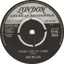 Ned Miller From A Jack To A King UK single