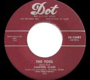 Sanford Clark The Fool