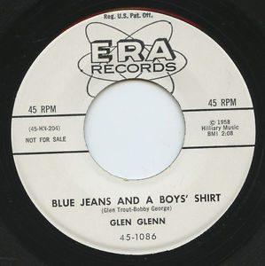 Glen Glenn Blue Jeans and a Boys' Shirt